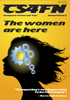 cs4fn's magazine celebrating women's contribution to computing