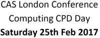 CAS London conference