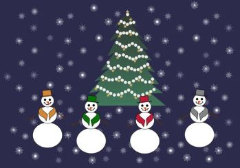 christmastreesnowman-PIXABAY1033346