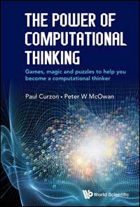 powerofct-cover Textbook cover of Power of Computational Thinking Curzon and McOwan