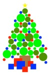 CirclesChristmasTree