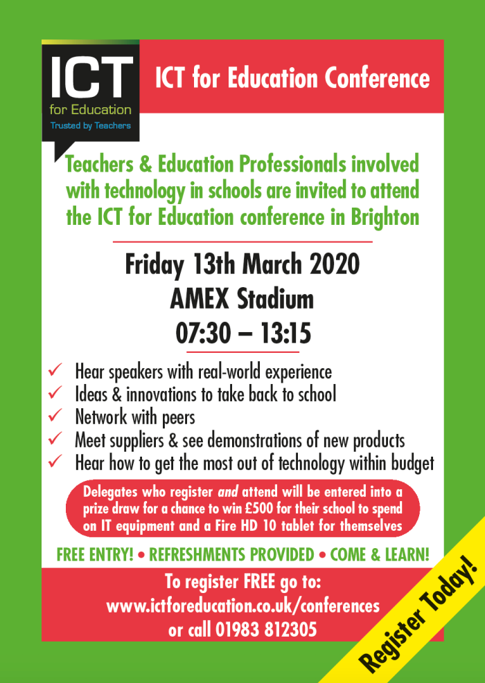 ICT for Education Conference - poster
