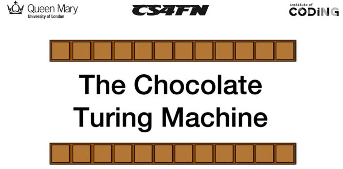 Chocolate Turing Machine talk Eventbrite link