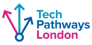 The logo for the Tech Pathways London project