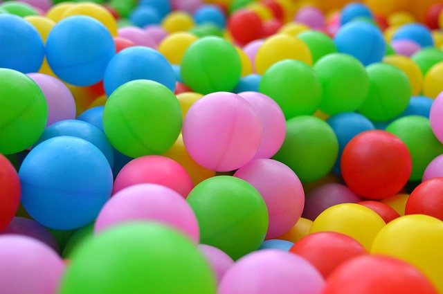 Lots of coloured balls